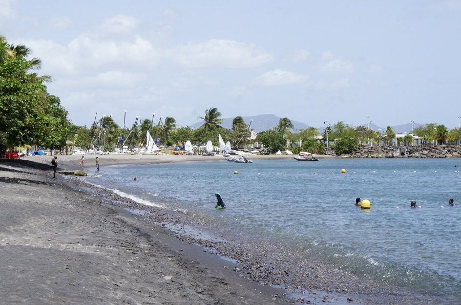 Photo de la plage de Anse Madame (Plan d'eau)