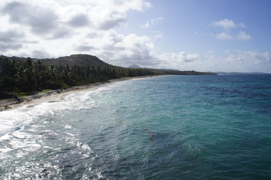 Photo de la plage de Anse Grosse Roche
